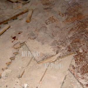 slika 1 prikazuje parket i podlogu od dasaka ispod parketa